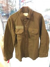 Vintage Olive Green NATO Combat Jacket Militaria Wool Size Small Superb Cond