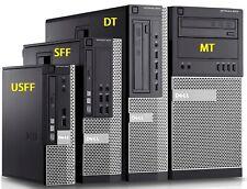 Windows 10 PC Desktop Business office Fast Dell Optiplex i7 i5 i3 MT SFF USFF