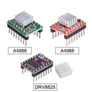 5Pcs A4988 DRV8825 TMC2208 Stepper Motor Driver With Heatsink For SKR 2 SKR V1.4