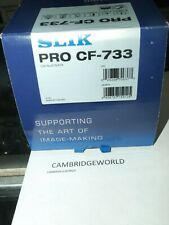 Slik PRO CF-733 Carbon Fiber Tripod NEW IN ORIGINAL FACTORY BOX and WARRANTY