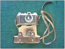 USSR Fed Zarya Rare Soviet Russian Vintage Soviet Camera & Industar-26M & Case