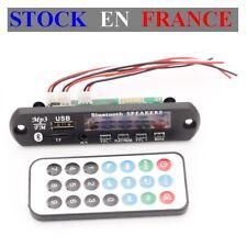 Module Lecteur/Player MP3 WMA - Support Micro SD USB - Bluetooth - M01BT69 - 12V