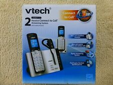 VTECH  DS6671-3 2 Handset Connect to Cell Answering System  * UNUSED *