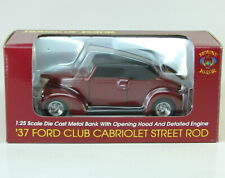 1937 Ford Club Cabriolet Street Rod House Of Kolor Bank SpecCast 1:25 Car 37