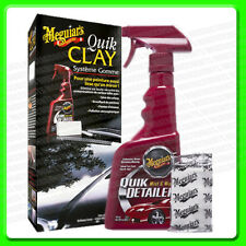*Pack of 2 *Meguiars Quik Clay Kit Detailing System [G1116] Quick Detailer & Bar