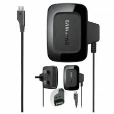 Genuine Samsung Mains 3 Pin Wall Plug Charger For Galaxy ACE 3,A3,A5,J3,S5 Mini