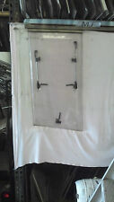 Early 90's Swift Caravan Very Front Offside Window 435mm w x 860>790mm h inc