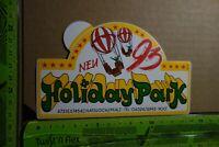 Alter Aufkleber Freizeitpark Erlebnispark HOLIDAY PARK Hassloch 1993