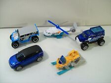 NWOB LOT 5 MATCHBOX ICE VOYAGERS DIE-CAST VEHICLES GHE-O RESCUE RANGER ROVER
