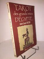 Tarot des grands initiés d'Égypte par Jean-Louis Victor