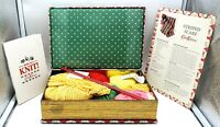 The Knitting Book by Cath Kidston - Knitting set with everything you need - VGC