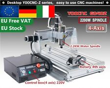 2.2KW 4 Axis 6040 USB Mach3 Desktop CNC Engraving Drilling Router Machine【IT&EU】