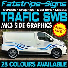 RENAULT TRAFIC MK3 SWB L1 GRAPHICS STICKERS DECALS STRIPES DAY VAN CAMPER D 1.9