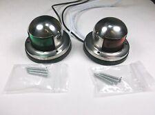 Set of BBT Stainless Steel 12 volt LED Navigation Lights