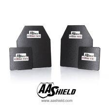 AA Shield Ballistic Light Weight Body Armor Hard Plate Lvl IIIA 3A 10x12 6x6 Kit