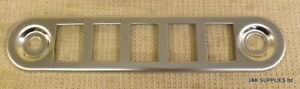 CLASSIC MINI DASH SWITCH SURROUND PANEL - STAINLESS STEEL - SW-1