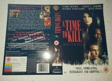Movie: A Time To Kill VHS Sleeve ONLY. Double sided.