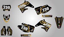 TM EN 125-250-300-400 TORNADO STYLE graphics kit 2004 / 2007 - stickers decals