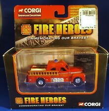 Corgi Fire Heroes CS90012 Seagrave Sedan Pumper San Francisco FD MIB 2002 1:64