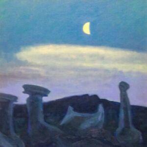 Bisti Badlands Santa Fe Southwest Landscape Art Oil Painting Western landscape