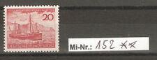 Bundesrepublik Mi-Nr.: 152 Helgoland sauber postfrisch