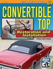 Convertible Top Restoration Installation MANUAL BOOK