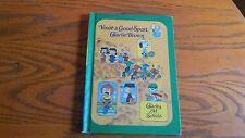 You're a Good Sport Charlie Brown  Vintage Children's Book - 1976 VG HB