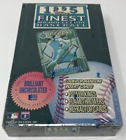 SEALED 1995 TOPPS FINEST MLB Baseball BOX Refractors 24 Packs Factory NEW!