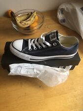 Converse Size 5.5 Navy New With Box