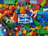 LEGO DUPLO 1 KG Starter oder Ergänzungs Paket Steine Platten Figuren Auto usw