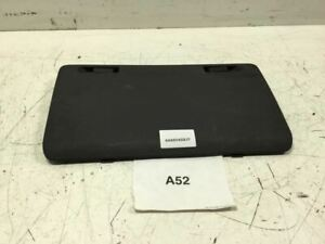 2006 HUMMER H3 REAR RIGHT SIDE TAILGATE TRUNK CARGO STOWAGE COMPARTMENT COVER