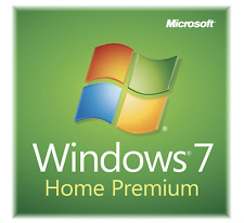 Microsoft Windows 7 Home Premium 64 Bit SP1 Full Version &  Upgrade New !