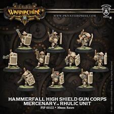 Hammerfall High Shield Gun Corps Mercenary Rhulic Unit PIP 41122