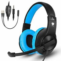 Gaming Headset SL-300 Stereo Surround Headphone With Mic for PS4 Xbox one PC