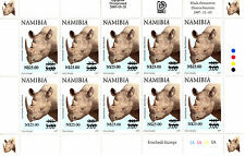 NAMIBIA 1997 DEFINITIVES OVERPRINTED 2005 SG1005 SHEETLET OF 10 MNH