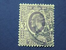 (1) used Great Britain stamp off paper -Scott # 132-King Edward VII-