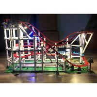 USB DIY LED Light Lighting Kit Fit For LEGO 10261 Roller Building Bricks Toys