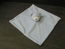 doudou ours bleu blanc dessous rayure primark