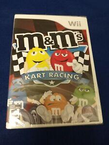 NEW SEALED NINTENDO WII GAME M&MS KART RACING NIB MMS KART RACING WII