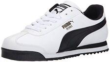 PUMA Roma Basic Classic 35357204 White Black Mens Shoes Sneakers All Sizes