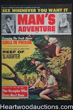 Man's Adventure Feb 1964 June Wilkinson - Ultra High Grade- NAPA