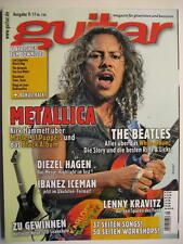 GUITAR MAGAZINE 2011/9 NR. 136 - METALLICA BEATLES LENNY KRAVITZ LED ZEPPELIN