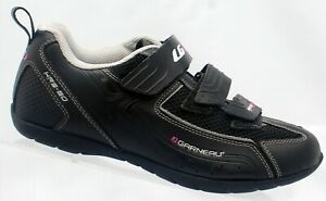 Louise Black Multi Airflex HRS-80 Women 7 US 38 EU Cycling Shoes Bike Hook Loop