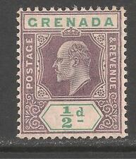 Grenada #58 (A19) VF MINT NH - 1904 1/2p King Edward VII