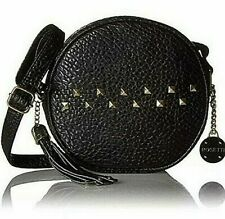 SALE! NEW ROSETTI Liberty FANCY STUDDED Round BLACK Crossbody BAG PURSE MSRP $59