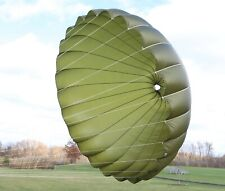 Thomas Sports Paragliding reserve round PDA canopy - olive drab - made in 2000