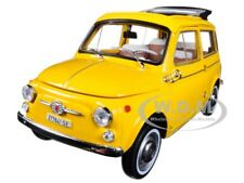 1968 FIAT 500 GIARDINIERA POSITANO YELLOW 1/18 DIECAST MODEL CAR BY NOREV 187724