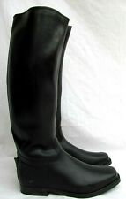 AREVA..MENS..RUBBER..ENGLISH RIDING BOOTS..CLOTH LINED..NEW OLD STOCK..sz 12