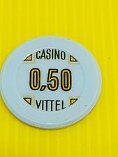 Joli ancien jeton, casino VITTEL, 0,5