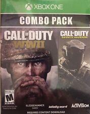 XBOX Game Call of Duty WWII/ Infinite Warfare Combo Pack!
